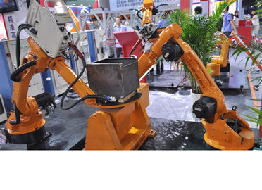 "High-Strength Small Industrial Robot For Welding , 6.4"" Color Led Display"